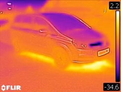 kamera termowizyjna Flir c2 auto 2