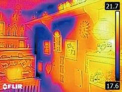 kamera termowizyjna Flir c2 budownictwo