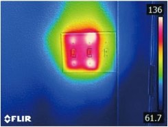 kamera termowizyjna Flir c2 elektryka