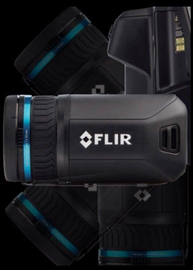 kamera termowizyjna Flir T530 Flir T540 wychylny obiektyw