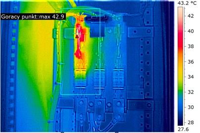 obraz termograficzny z MSX
