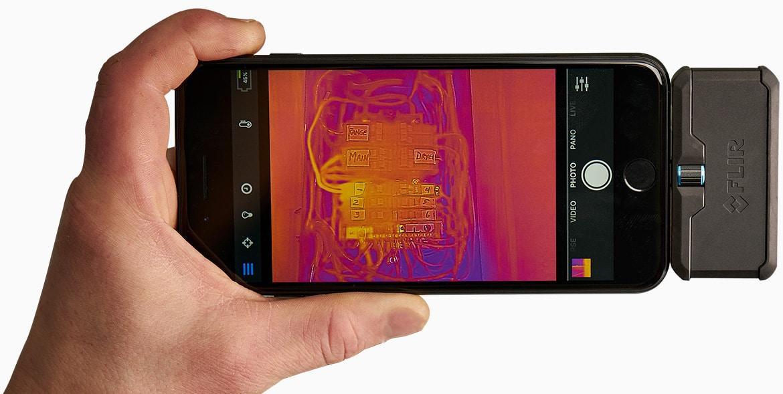 Flir One Kamera Termowizyjna Do Telefonu Iphone I Android Termoenergia